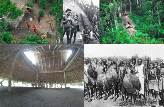 maloca et peuples amérindiens